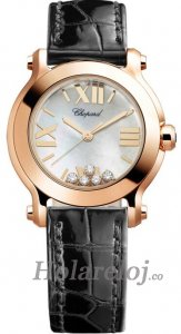 Chopard Happy Sport Round Cuarzo 30mm Senoras Replica de reloj 274189-5001