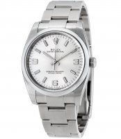Rolex Oyster Perpetual 34 Plata Dial Inoxidable Acero Oyster 114200SASO