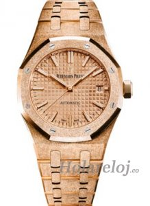 Audemars Piguet Royal Oak 1545 4 Frosted Oro Reloj