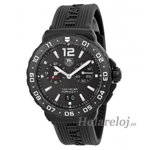 Replicas Tag Heuer Formula 1 Anthracite Dial Chronograph hombres WAU111D.FT6024