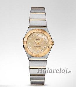 Replica Omega Constellation Cuarzo 24MM mujer Relojes 123.20.24.