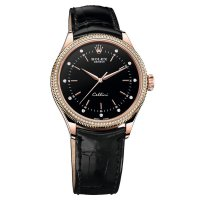 Rolex Cellini Time 18ct Eveoro rosa Double Bezel 50605RBR