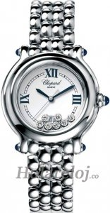 Chopard Happy Sport Classic Round Cuarzo 32mm Senoras Replica de reloj 278236-3005