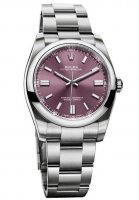 Rolex Oyster Perpetual 36mm Red Grape Marcar 116000