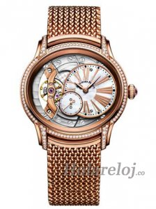 Audemars Piguet Millenary Hand-Wound Rosa oro Reloj 77247OR.ZZ.1272OR.01