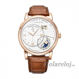 Replica reloj A.Lange & Sohne 119.032 Grand Lange 1 LUNA MUNDI Mechanical in White Gold