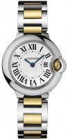 Cartier Ballon Bleu 28mm Senoras reloj W69007Z3