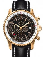 Breitling Navitimer World 18K or Rose H24322