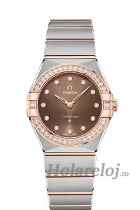 OMEGA Constellation Acero oro sedna Diamantes 131.25.28.60.63.001 Replicas