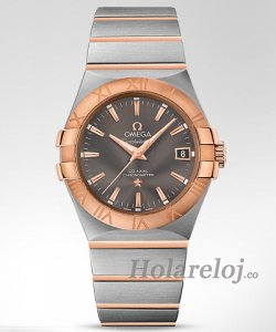 Omega Constellation Co-Axial Automatico Reloj 123.20.35.20.06.002