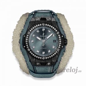 Hublot Big Bang Frosted Carbon Diamant 39 465.QK.7170.VR.1204.ALP18