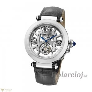 Cartier Pasha Skeleton Flying Tourbillon Reploj W3030021
