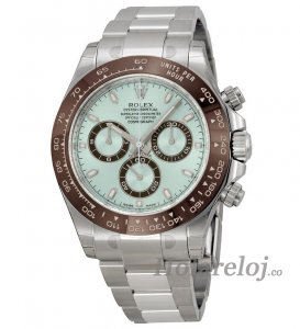 Rolex Cosmograph Daytona Ice Azul Dial Platinum Oyster IBLSO 116506