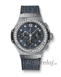 Hublot Big Bang Jeans Acero Diamantes 341.SX.2770.NR.1204.JEANS Replica Reloj
