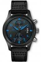 Replicas IWC Aviador Cronografo Top Gun Blue Black Ceramic reloj IW388003