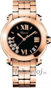Chopard Happy Sport Round Cuarzo 36mm Senoras Replica de reloj 277472-5004