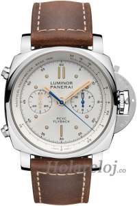 Luminor 1950 PCYC 3 Days Chrono Flyback Automatico Acciaio 44 PAM00654 Reloj