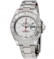 Rolex Yacht-Master 40 Platinum Dial Inoxidable Acero Rolex Oyster 116622PLSO