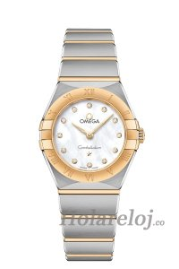 OMEGA Constellation Acero oro amarillo Diamantes 131.20.25.60.55.002 Replicas