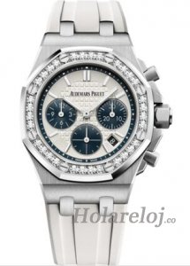 Audemars Piguet Royal Oak OffShore 26231 dama plata Diamante Reloj