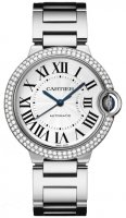 Cartier Ballon Bleu 36mm Blanco Oro reloj WE9006Z3