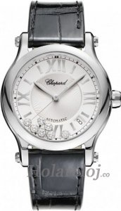 Chopard Happy Sport Medium Automatico 36mm Senoras Replica de reloj 278559-3001