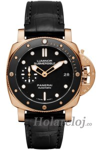 Luminor Submersible 1950 3 Days Automatico Oro Rosso 42 PAM00684 Reloj