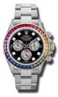 Rolex Oyster Perpetual Cosmograph Daytona Rainbow 116599 RBOW