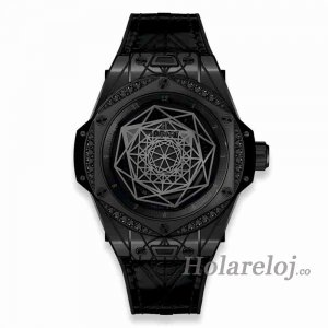 Hublot Big Bang Bleu Negro Diamant 39 465.CS.1114.VR.1200.MXM18