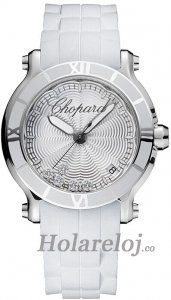 Chopard Happy Sport Round Cuarzo 36mm Senoras Replica de reloj 278551-3001