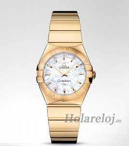 Omega Constellation Polished 27mm Reloj 123.50.27.60.05.004