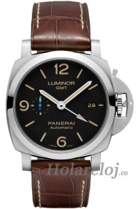 Luminor 1950 3 Days GMT Automatico Acciaio 44 PAM01320 Reloj