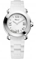 Chopard Happy Sport Round cuarzo 36mm Senoras reloj 278475-3016