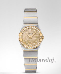 Replica Omega Constellation Cuarzo 24MM mujer Relojes 123.25.24.