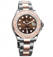 Rolex Yacht-Master Chocolate Dial Acero and 18K EveOro rosa Oyster 116621CHSO