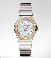 Omega Constellation Polished Cuarzo Small Relojes 123.25.27.60.55.007