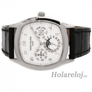 Patek Philippe Grand Complications Plata Dial Automatic 5940G-001