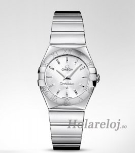 Replica Omega Constellation Polished Cuarzo Reloj 123.10.27.60.0