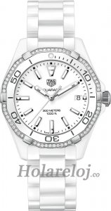 Tag Heuer Aquaracer Blanco Marcar Reloj WAY1396.BH0717
