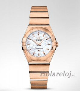 Omega Constellation Cuarzo 27 mm Reloj 123.50.27.60.05.001