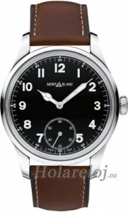 Montblanc 1858 Manual Small Second hombres reloj 112638