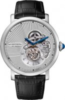 Rotonde de Cartier Flying Tourbillon reversed dial Replica reloj