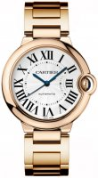 Cartier Ballon Bleu Medium 18k Oro rosa Reploj W69004Z2