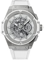 Hublot King Power Unico titanio blanco 48mm 701.NE.0127.GR