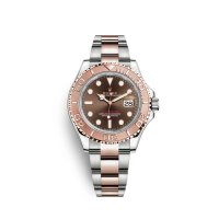 Rolex Yacht-Master 40 Oystersteel 18 ct Evegold rosa M126621-0001 Replicas