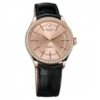 Rolex Cellini Time 18ct Eveoro rosa Pink Dial 50705RBR