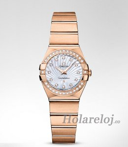 Omega Constellation Cuarzo 24MM mujer Relojes 123.55.24.60.55.001
