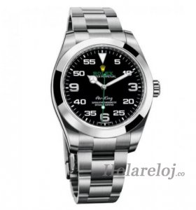 Rolex Air King Negro Dial Inoxidable Acero 116900BKAO