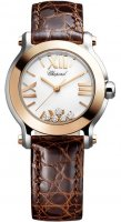 Chopard Happy Sport Round Cuarzo 30mm Senoras Replica de reloj 278509-6001