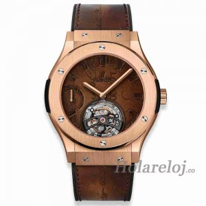 Hublot Classic Fusion Tourbillon King Gold 45 505.OX.0500.VR.BER17